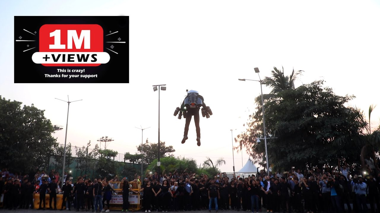 Flight of Richard Browning at NSCI Mumbai. TEDxGateway.