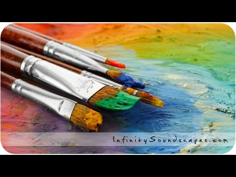 Painting - Relaxing binaural audio ASMR no talking sounds for sleep