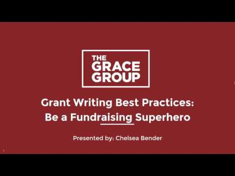 The Grace Group - Be a Fundraising Superhero - Webinar