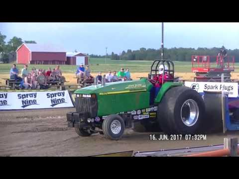 OPEN SUPER STOCK TRACTOR 2017 OHIO STATE BENEFIT PULL GREENVILLE, OH