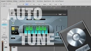 How to Auto Tune in Logic Pro 9