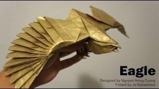 Origami Giveaway #5 - Eagle (nguyen Hung Cuong)