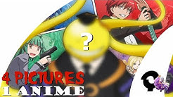 4 PICTURES 1 ANIME QUIZ | 35 Animes (Very Easy-Very Hard)