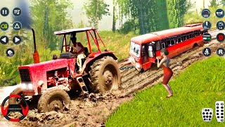 Real Tractor Pulling Simulator 🚜💥 Gameplay 359√ || Best Tractor Games || Flash Gameplay screenshot 4