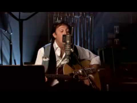 MC CARTNEY ACOUSTIC VERSION (things we said today) BEATLES