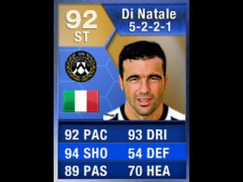 FIFA 13 TOTS DI NATALE 92 Player Review & In Game Stats ...