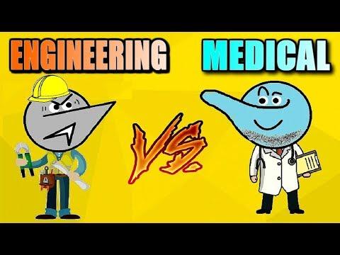 Engineering Vs Medical Students Life !