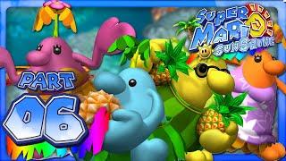 Super Mario Sunshine - Part 6 - Gelato Beach (Dolphin HD)