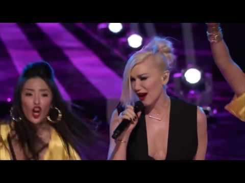 """Gwen Stefani - """"Hollaback Girl"""" Live on """"The Voice"""""""
