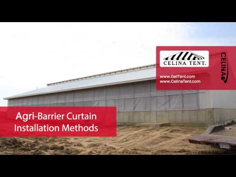 Agri-Barrier Curtain Installation Methods