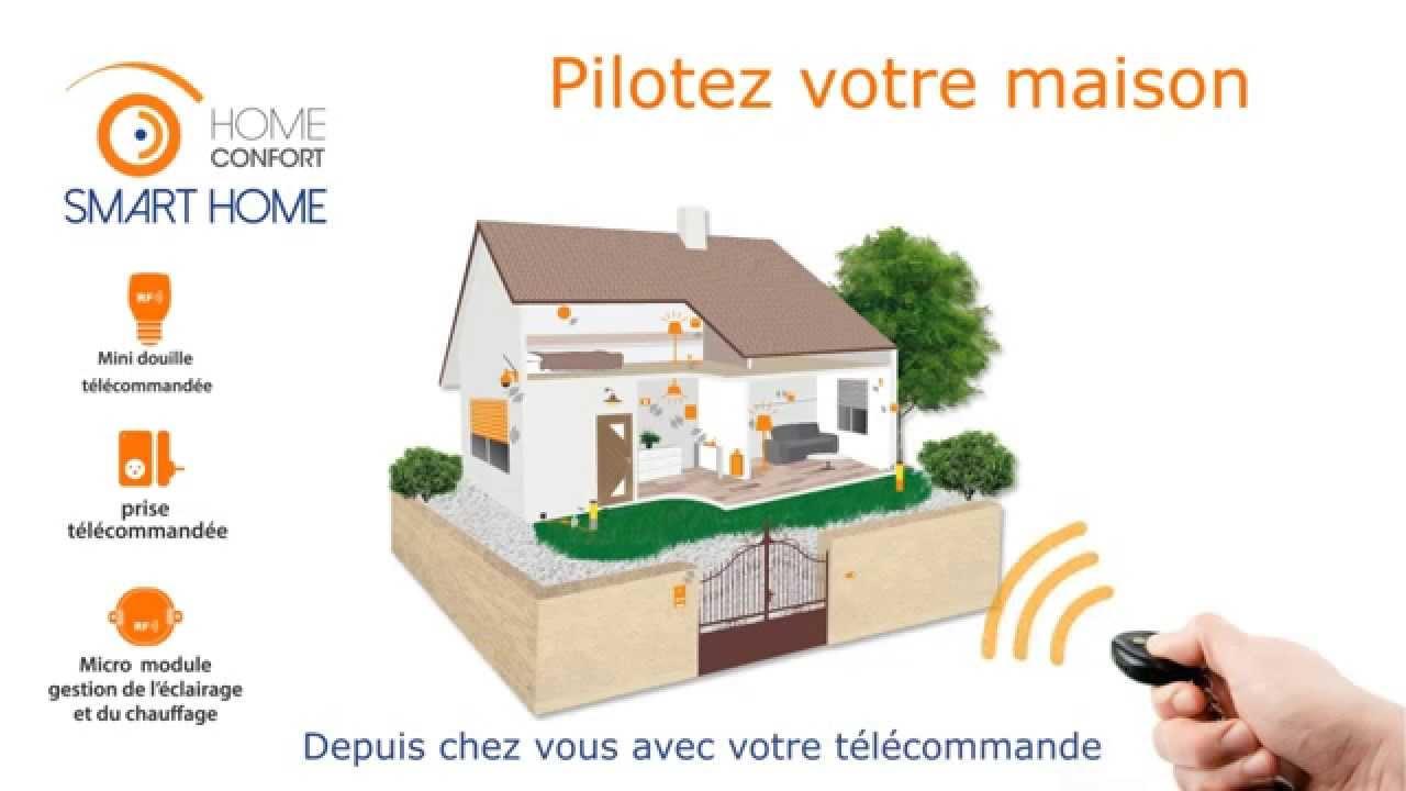 Elegant Vido Home Confort Smart Home Pilotez Votre Maison En Local Et A  Distance Youtube With Comment Voir Sa Maison Sur Google.