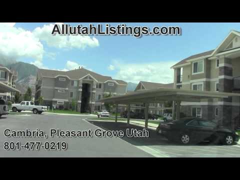 CAMBRIA Condos & Townhomes For Sale, Pleasant Grove Utah |801-477-0219|Jorge the REALTOR