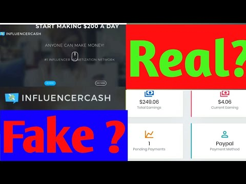 Influencer Cash website is real or fake ?   influencercash.co review in Hindi  