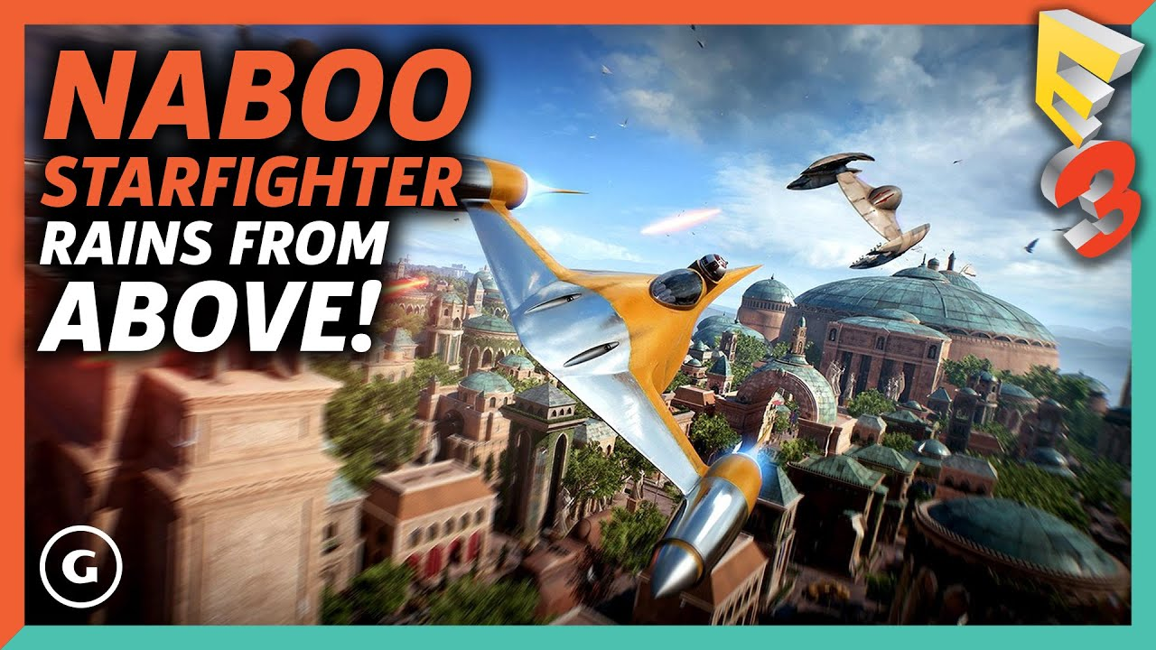 Naboo Starfighter Action! - Star Wars Battlefront II Gameplay | E3 ...