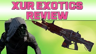 DESTINY - RED DEATH! & Xur Recommendations (Red Death Gameplay)