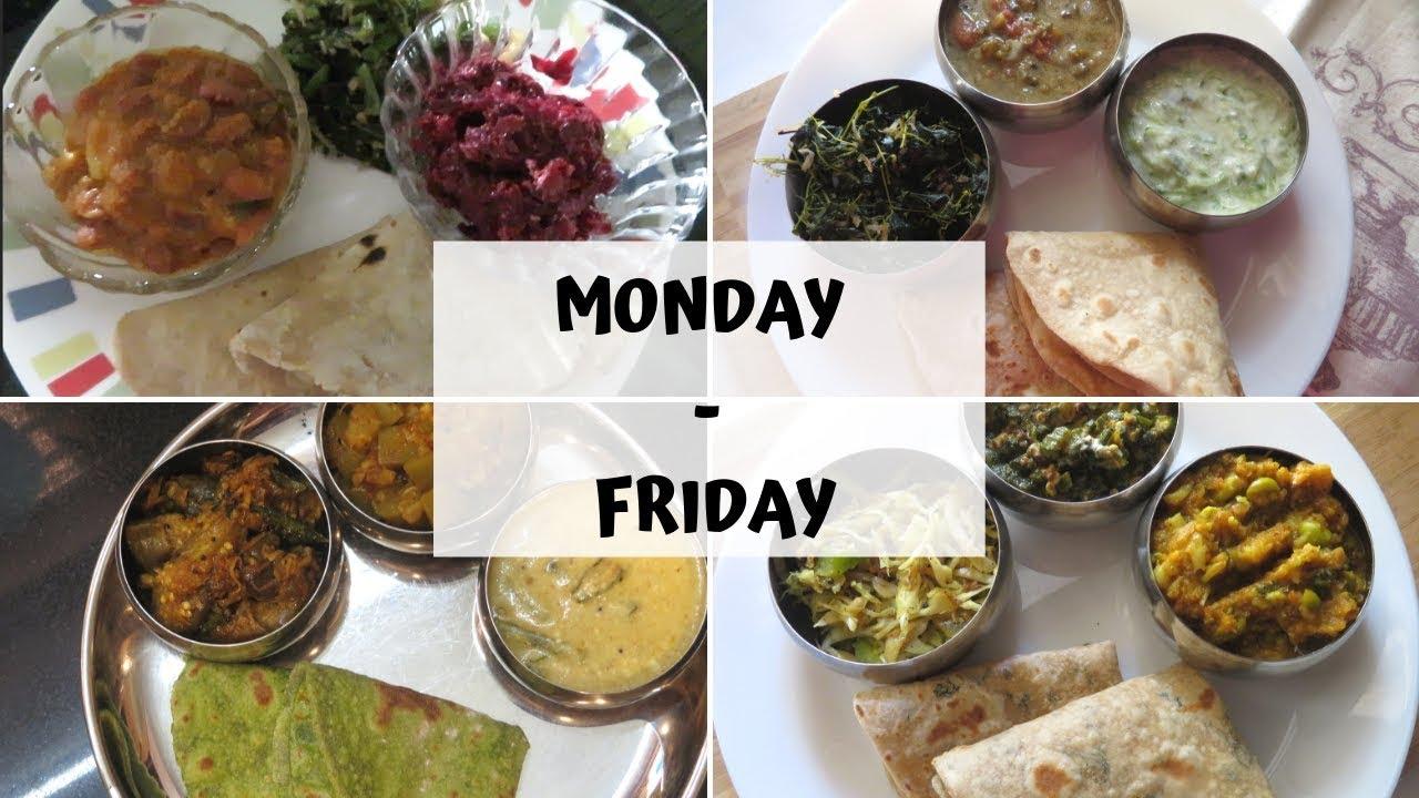 MONDAY-FRIDAY DIET LUNCH MENU/Sivakasi Samayal Express 112