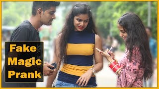 Fake Magic Prank On Cute Girls - Prank In India | The HunGama Films