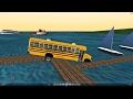 mm2 tour (1049) American school bus bluebird International 3800 @ Sam Sam City