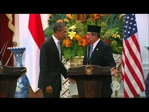 Obama Visits Indonesia