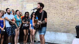 Passenger - Scare away the dark - live@Rome (Piazza S.Maria in Trastevere)