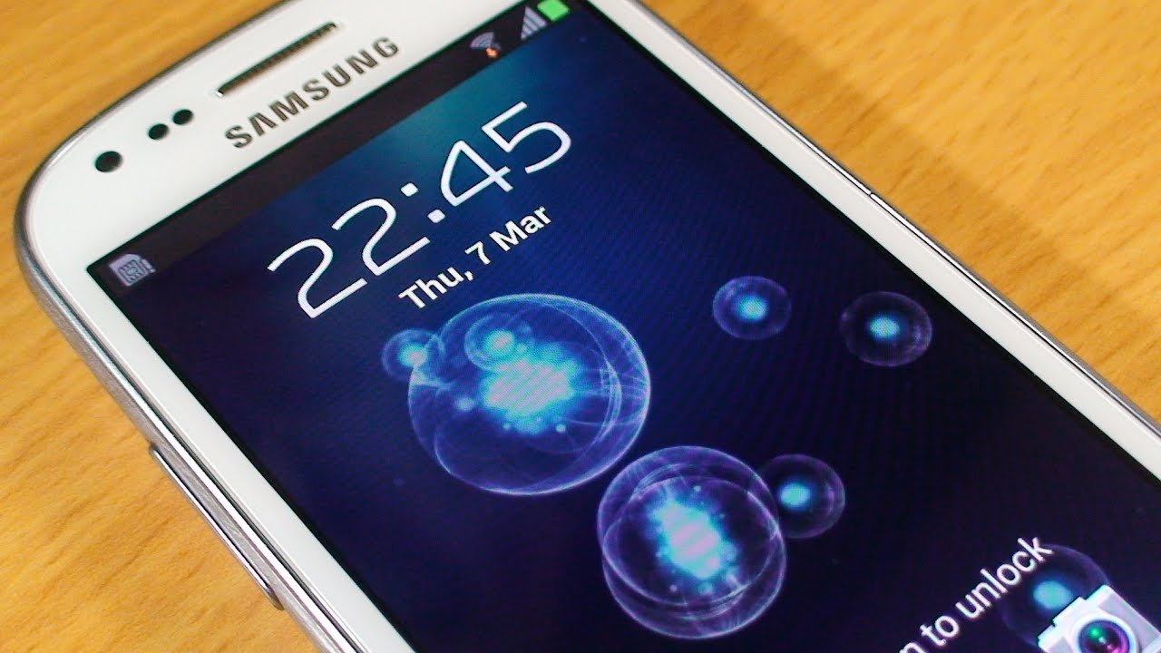 how to set up wallpaper on samsung galaxy s3 mini - youtube