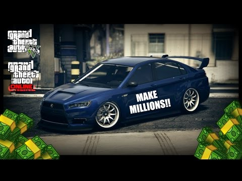 how to make millions in gta 5 online