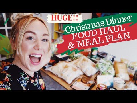Christmas Dinner Food Haul & Recipes For 14 People   SJ STRUM