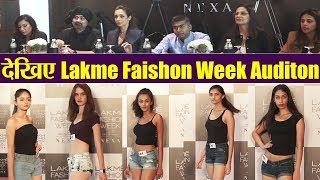 Lakme Fashion Week 2019 Edition Audition: Models auditioning in front of Malaika Arora | Boldsky