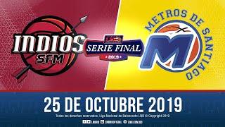 Serie Final Juego 7    Ndios Vs Metros 25 Oct. 2019