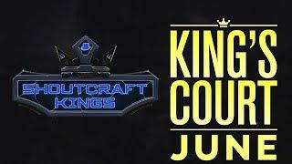 ShoutCraft Kings - King's Court Talk Show - June Edition