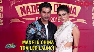 Made In China trailer launch event | Rajkummar Rao and Mouni Roy | Uncut | Bolly Quickie