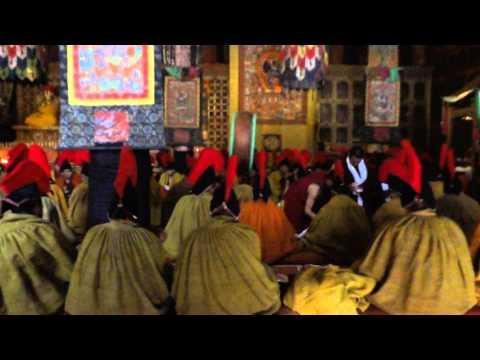 Xigaze,Sakya klooster in Tibet 28.10.2012
