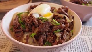 Only 15mins to cook this PERFECT Yoshinoya Japanese Beef Bowl 牛丼 Gyudon