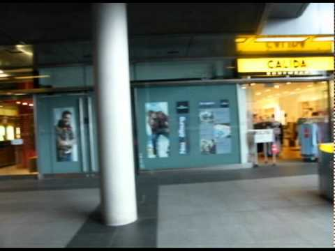 Berlin Subway Line 1 & Central Station in July 2011