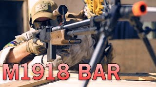 Browning Automatic Rifle (bar) - Echo 1 Ohio Ordnance M1918 Slr Airsoft Gun - Airsoft Gi