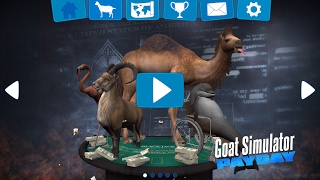 GOAT SIMULATOR PAYDAY FOR FREE ON IOS