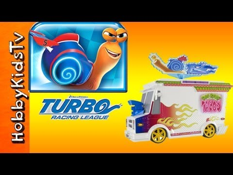 HobbyKids Toy Review! Turbo Snail Toy Lunchtruck +Track ...