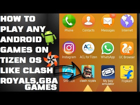 How To Play Any Apk Games On Tizen Os Like Gba Games And Clash Royals