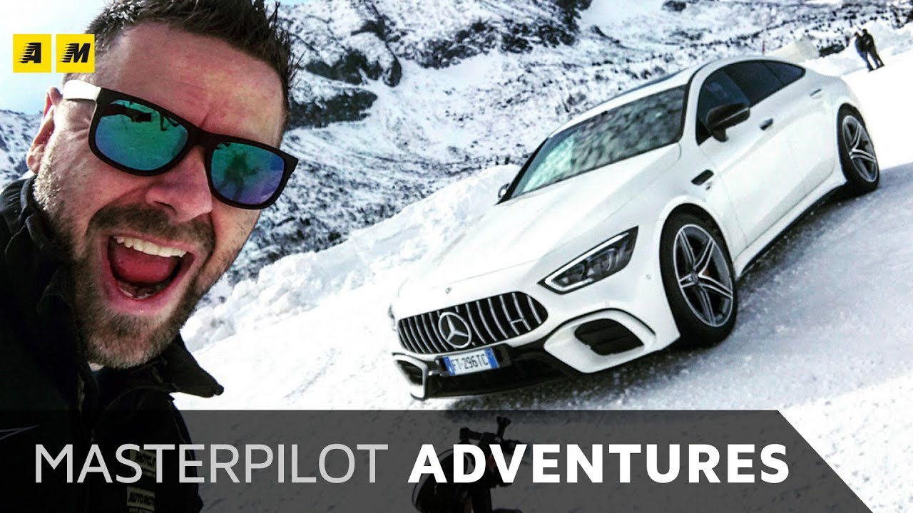 AMG GT 4 Porte (e non solo) al CORSO GHIACCIO NEVE Mercedes Benz