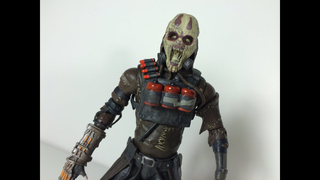 Batman Arkham Knight Series 1 Scarecrow Toy Review