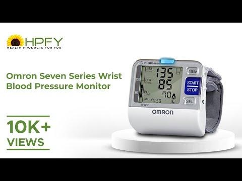Omron Seven Series Wrist Blood Pressure Monitor