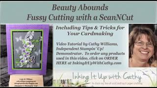 Wie Erstellen Sie Scan-N-Cut-Datei für Gestanzte Bilder Mit Beauty-Reich