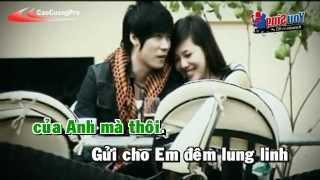 Chiec Khan Gio Am Karaoke - Khanh Phuong