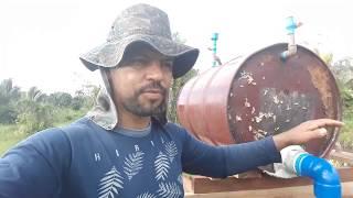Sistema de puxar água sem uso de energia.