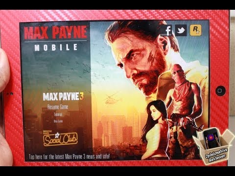 Max Payne Mobile iPhone App Review - GAMEPLAY