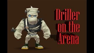 AI SW - Driller on the Arena (Road to TOP100)