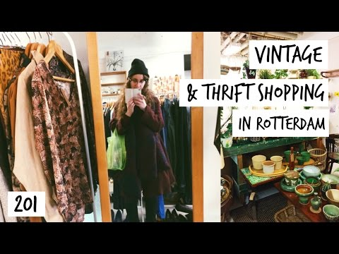 My Friends Cheer Me Up In Bad Times & Vintage Shopping | Vlog 201 | HiLesley-Ann