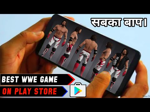 🔥Best Wwe Game On Play Store! Download Biggest Wwe Game For Android