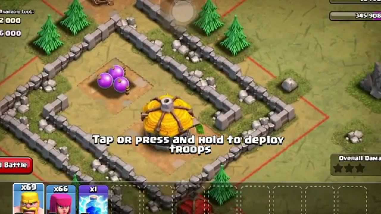 what troops should i use in clash of clans