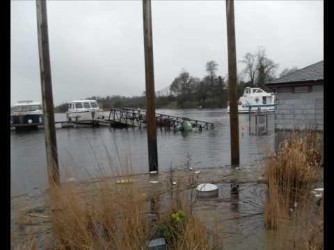 Flood in Carrick on Shannon